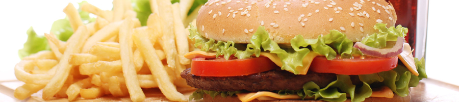 Carte burger et grill d'inspiration américaine