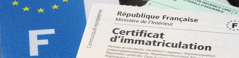 Documents à fournir pour une carte grise express