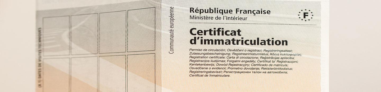 Immatriculation et carte grise au Mée-sur-Seine