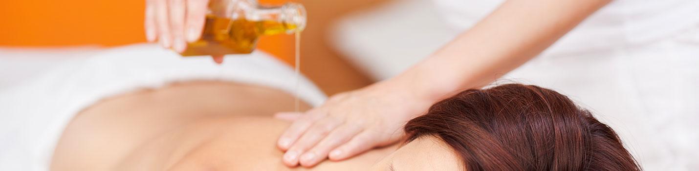 Le massage aux huiles normales