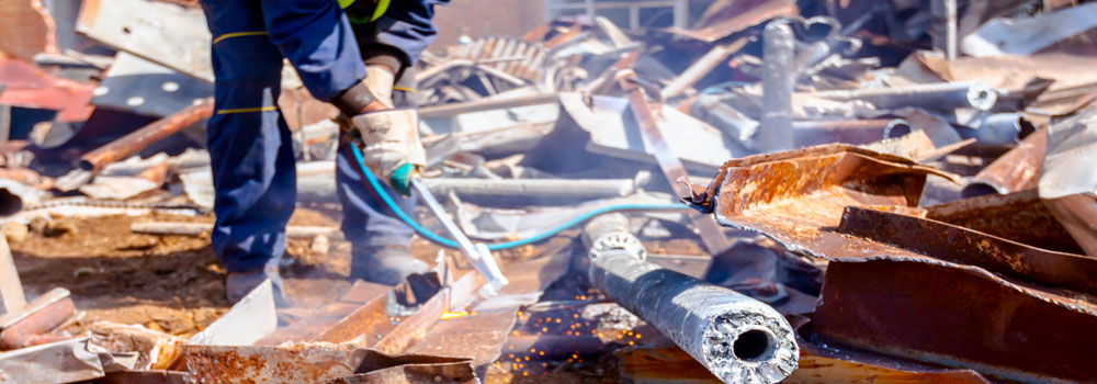 Découpage des structures métalliques