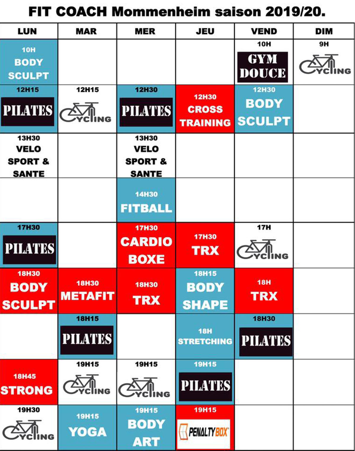 Planning fit coach