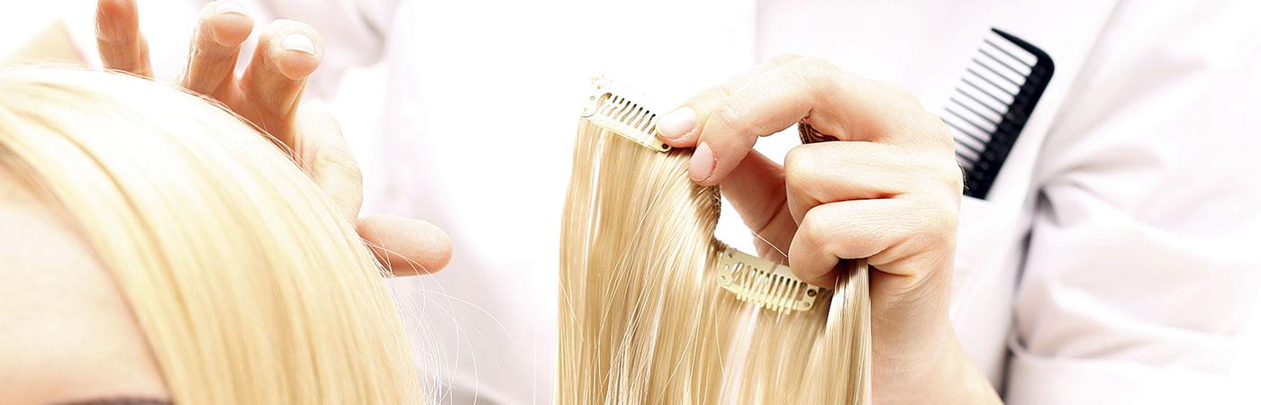 Pose de tissage de cheveux naturels