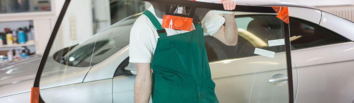 Atelier vitrage auto à Verton