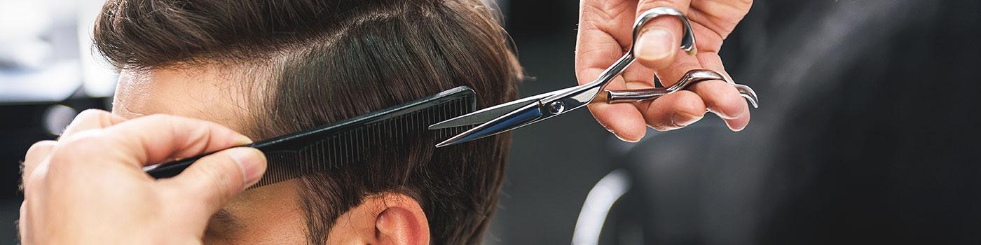 La coupe de cheveux pour l'homme