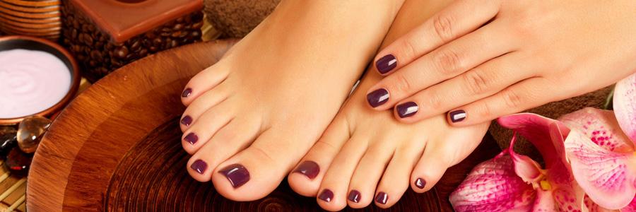 La beauté des mains et des pieds