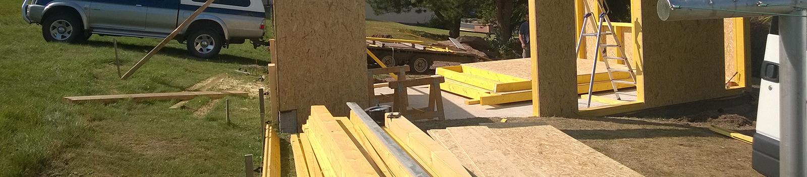 Rénovation de pièce à ossature bois