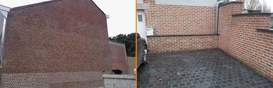 Travaux de rénovation à Estaimpuis