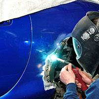 La rénovation et réparation de carrosserie
