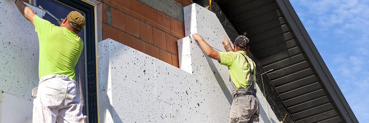La réparation et le traitement de la façade