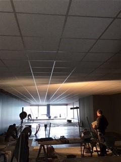 Plafond suspend