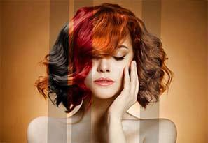 La coloration et la décoloration de cheveux