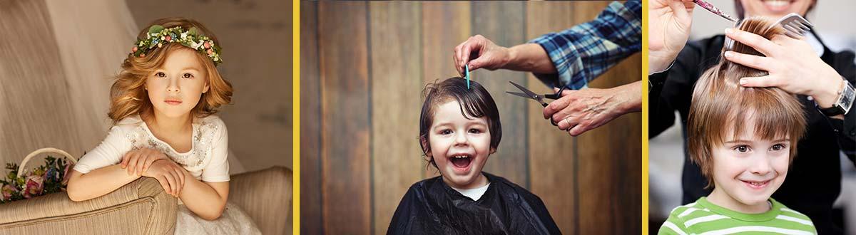 La coupe de cheveux pour fille et garçon