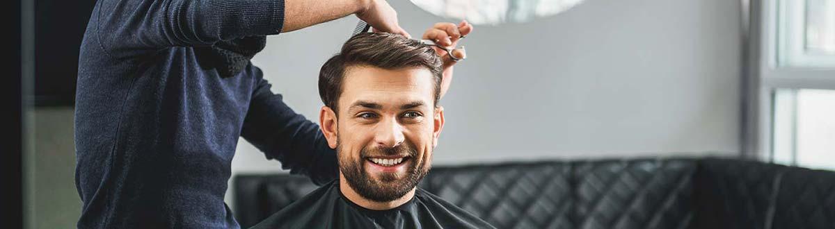 La coupe de cheveux pour homme