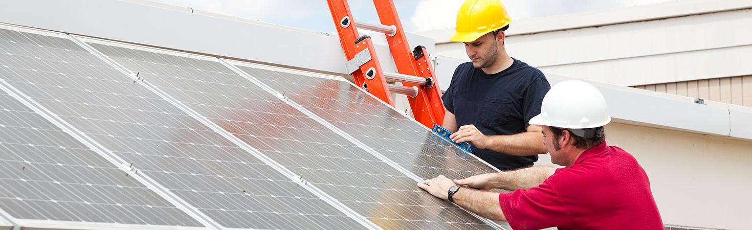 Le nettoyage des panneaux solaires