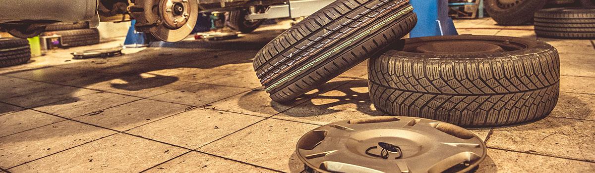 Le montage des pneus