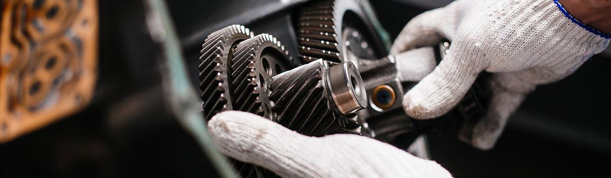 La réparation de la boîte de vitesses