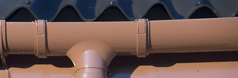 L'installation et entretien des gouttières
