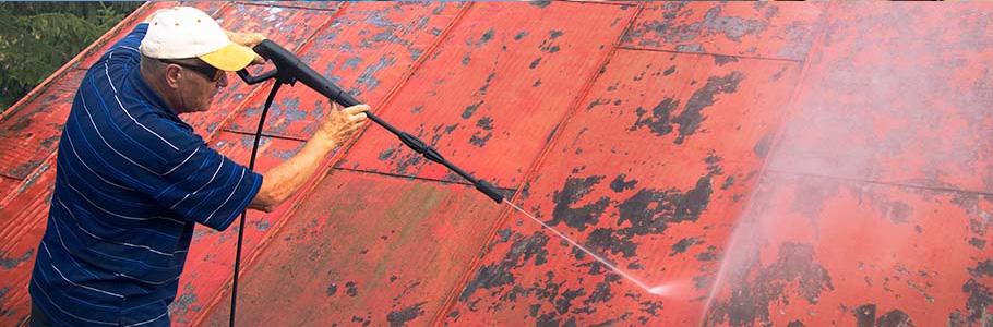 Le nettoyage de la toiture
