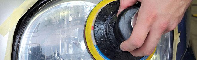 La rénovation de l'optique de phare