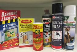 Vente de produits insecticide