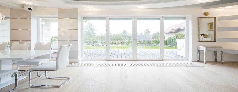 La porte-fenêtre