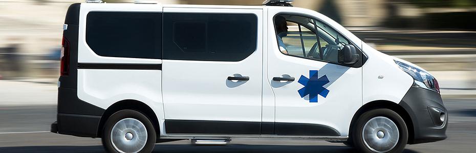 Transport en ambulance à Souffelweyersheim