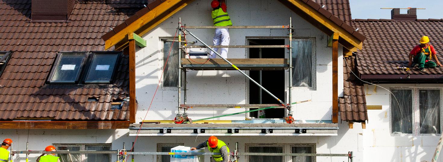 Travaux de rénovation extérieure à Schaerbeek (Bruxelles)