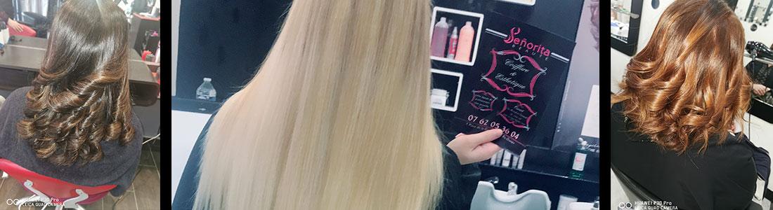 Les colorations pour les cheveux