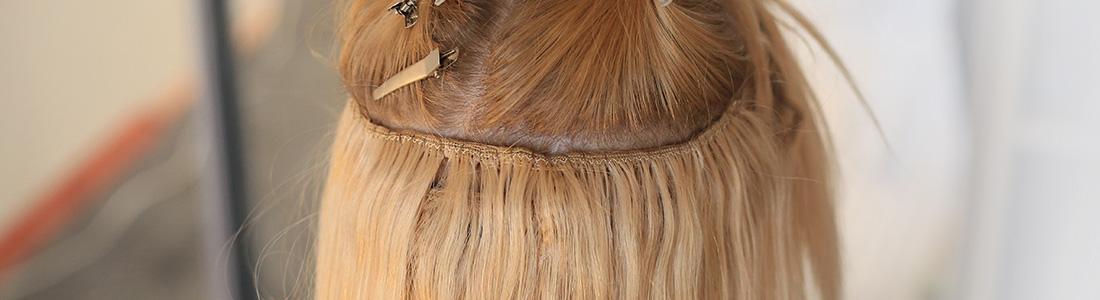 Les extensions de cheveux à froid