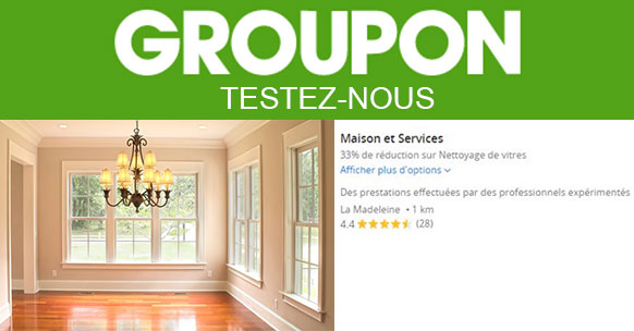 Offre Groupon