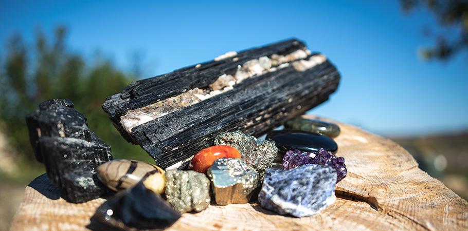 Les vertus des pierres et minéraux