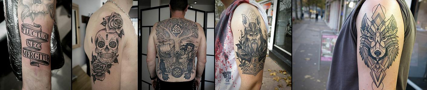 Soin et hygiène du tatouage à Rouen- Salon de tatouage Inside Tattoo