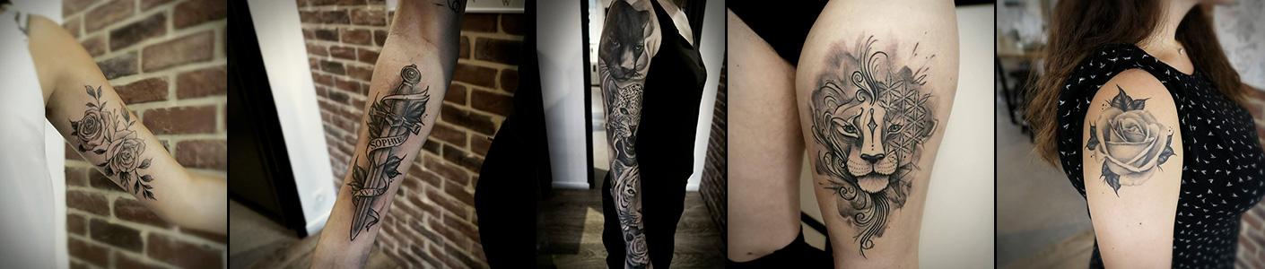 Tatouage et tattoo cover à Rouen – Salon de tatouage Inside Tattoo