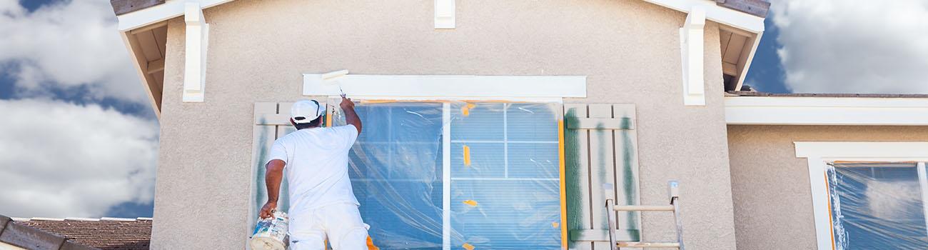 La peinture de façade