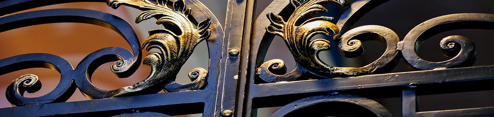 Conception de grille et de portail en fer à Aix-en-Provence