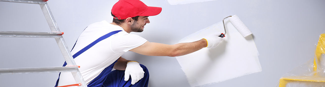 Peinture intérieure et peinture extérieure