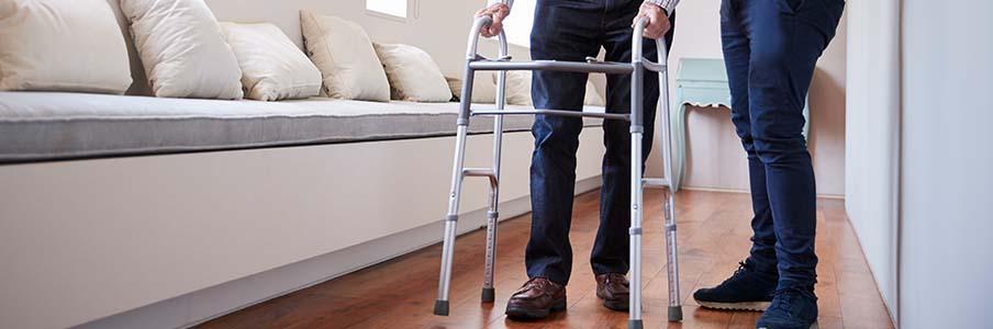 Les soins de maintien à domicile