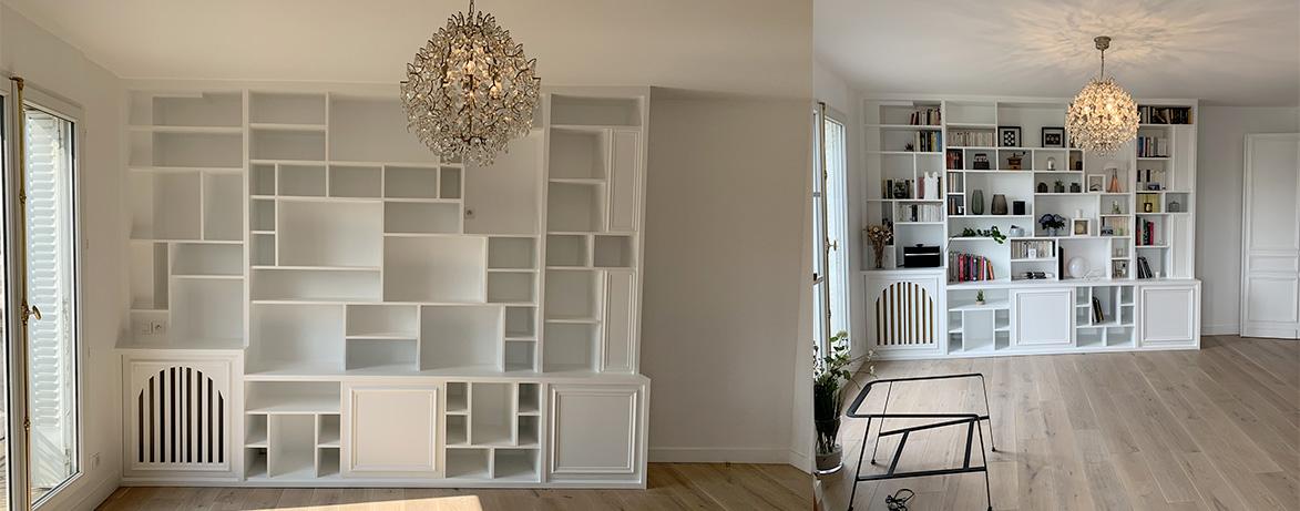 La création de meuble sur-mesure
