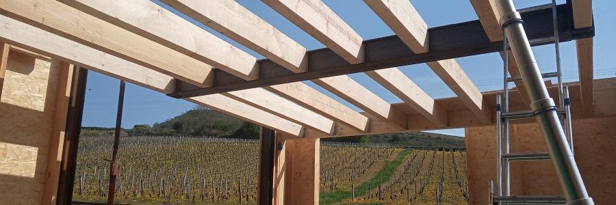 La construction d'une maison à ossature bois