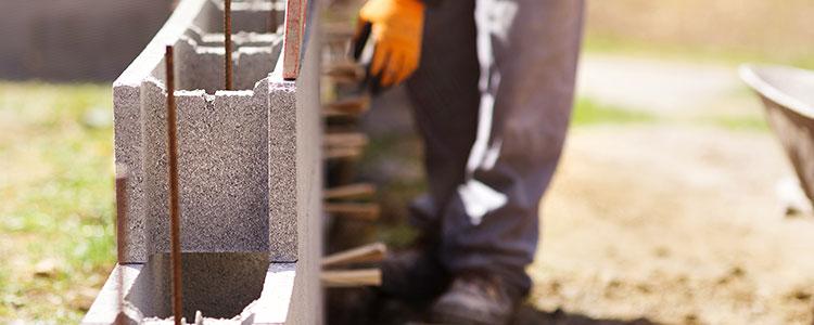 Les travaux de maçonnerie générale