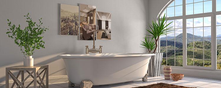 Aménagement de salle de bain à  (Ile-de-France)