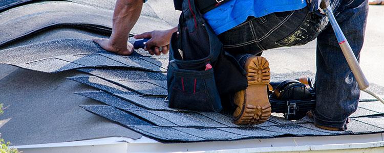 La réparation de toiture endommagée