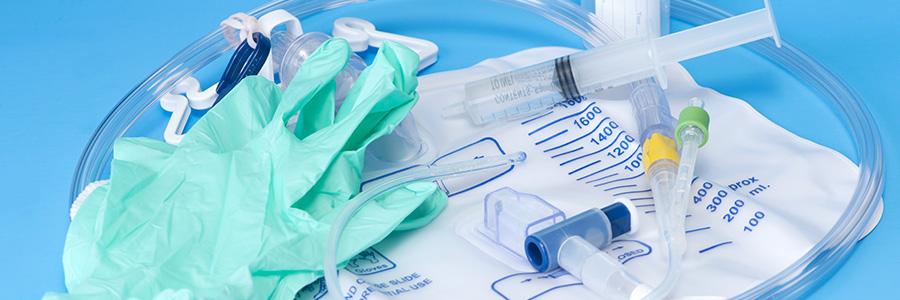 Le matériel médical pour le soin et le traitement du patient