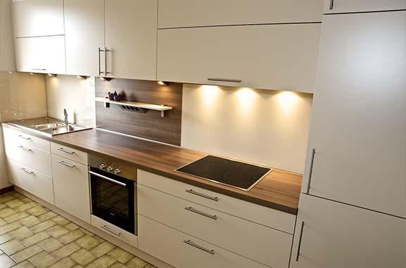 La réalisation des travaux du bâtiment pour la cuisine
