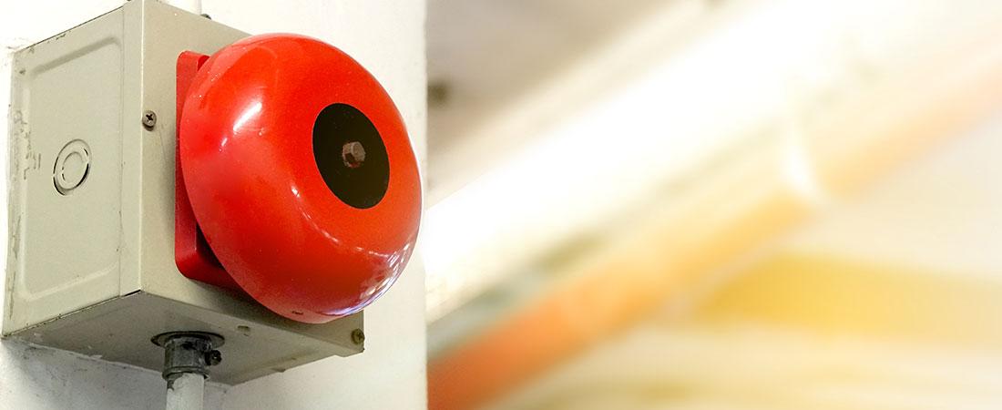 L'installation de détecteur de fumée et alarme incendie