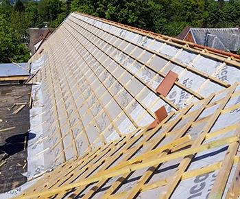 La réfection de toiture abîmée