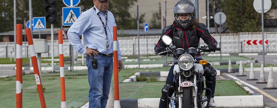 Les différents permis moto