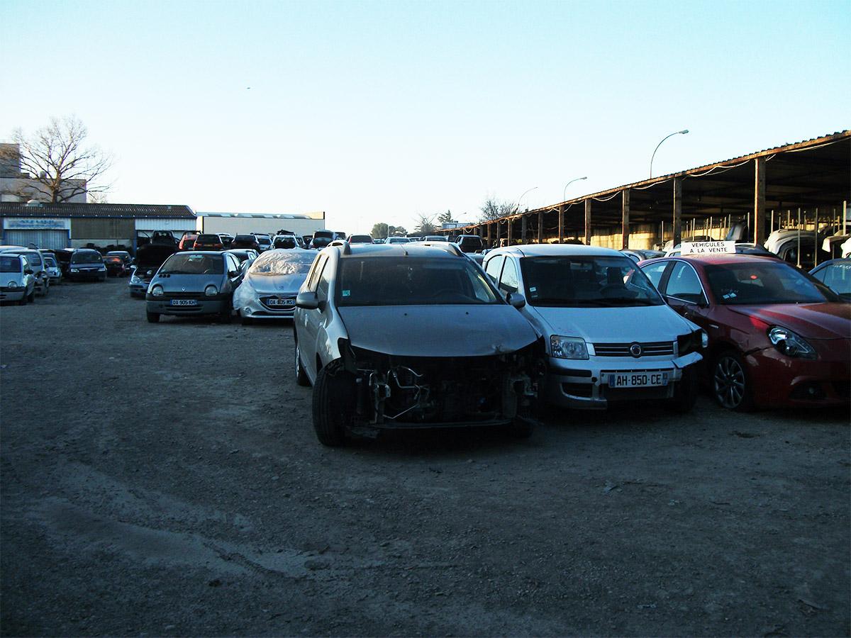 Vente à l'export de véhicules