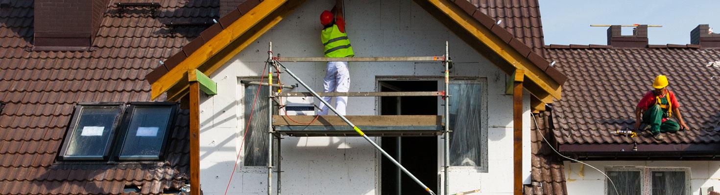Ravalement de façade - Société de rénovation à Bruges
